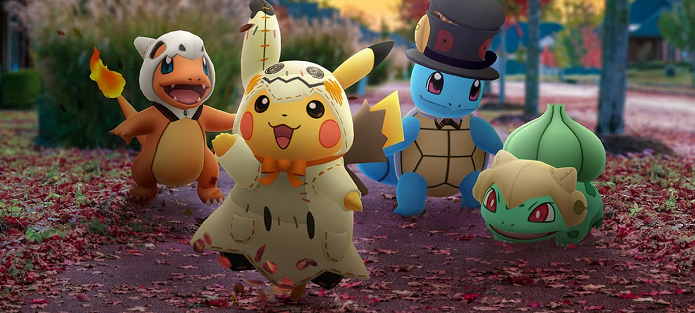 Pokemon Go заработала за год почти $900 миллионов