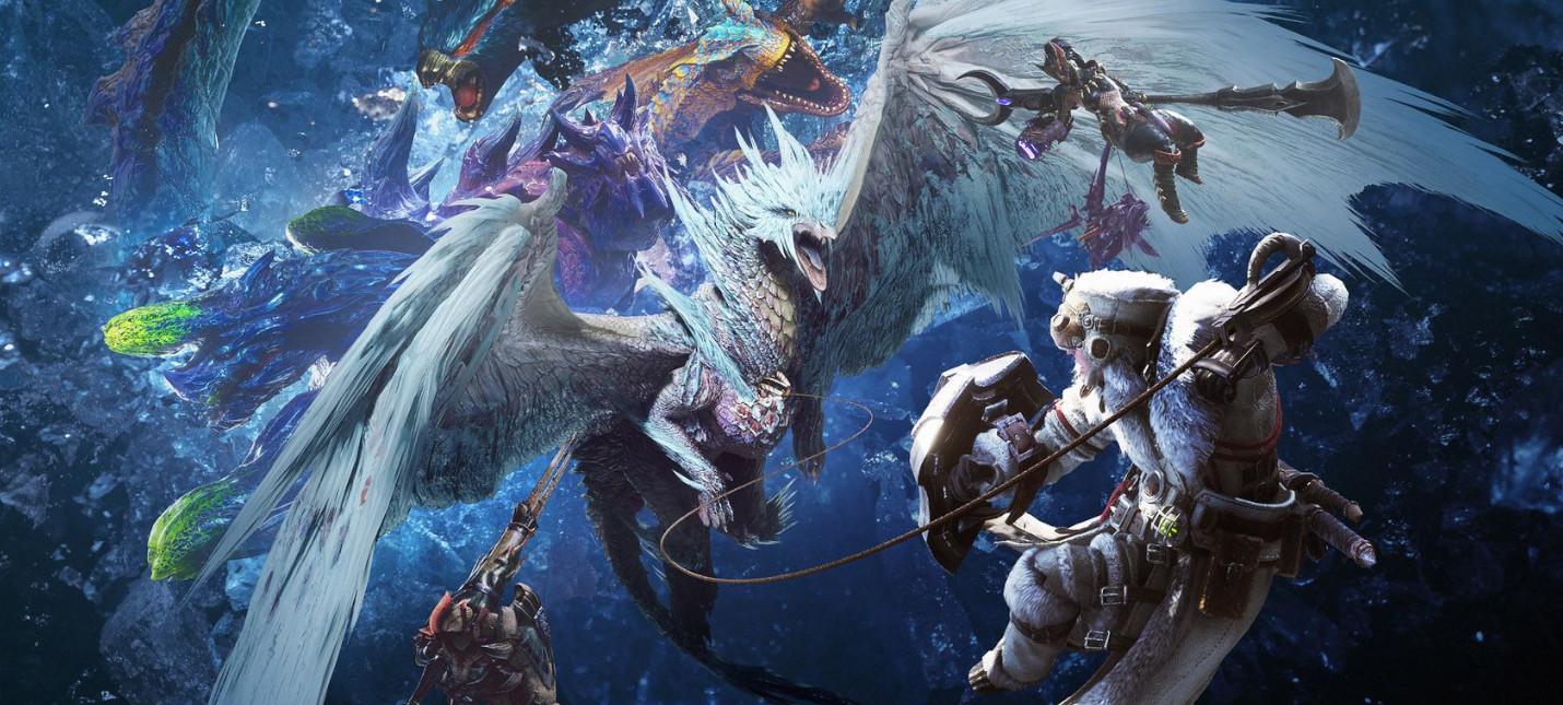 Monster Hunter: World ворвалась на четвертое место в топе Steam по единовременному количеству игроков