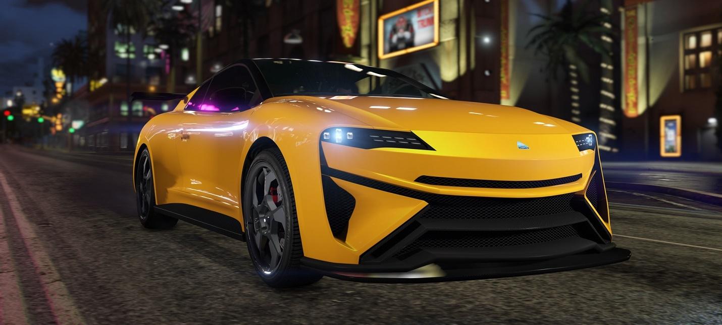 Еженедельный апдейт GTA Online — новый спорткар и двойные выплаты за избранные задания