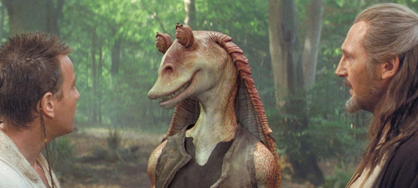 Слух: В сериале про Оби-Вана появится Джа-Джа Бинкс