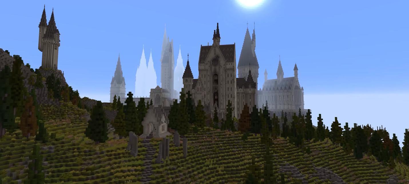 """Игроки создают внутри Minecraft полноценную RPG по """"Гарри Поттеру"""""""