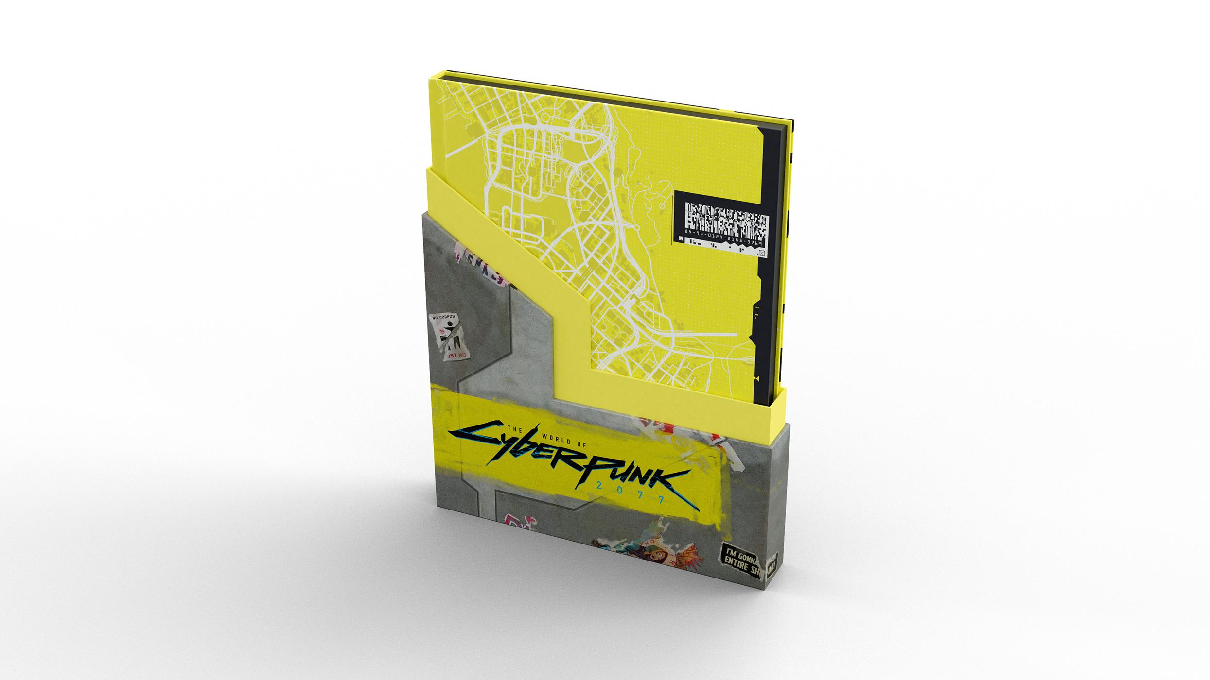 Dark Horse официально представила артбук The World of Cyberpunk 2077