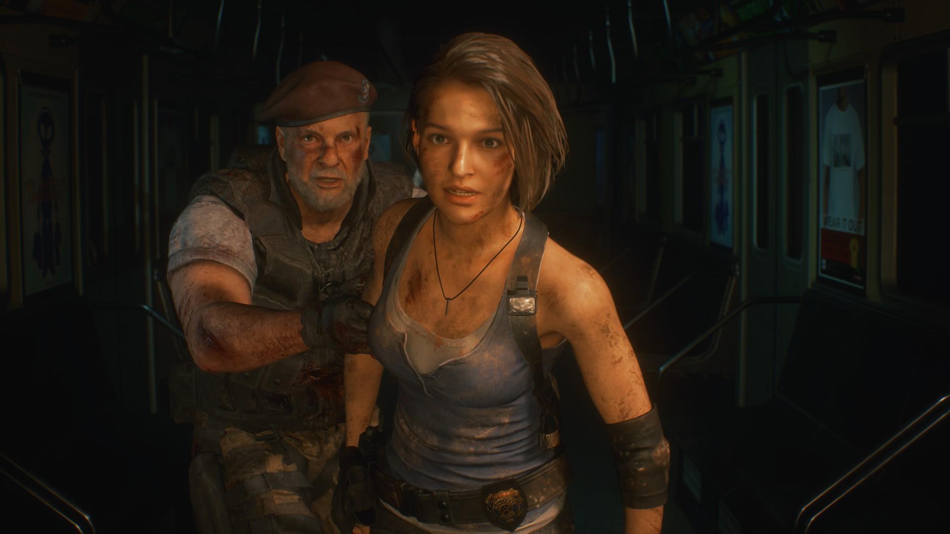 Новый трейлер ремейка Resident Evil 3 посвящен Немезису
