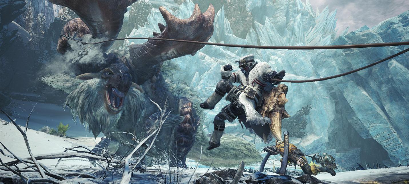Дополнение Iceborne для Monster Hunter World купили 4 миллиона раз