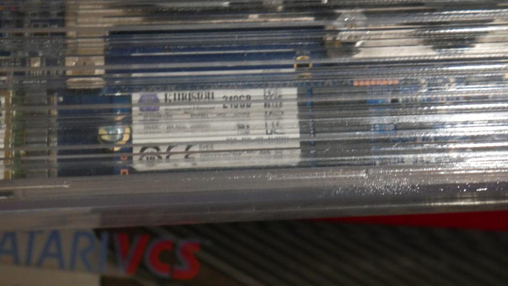 Взгляните на консоль Atari VCS в прозрачном корпусе