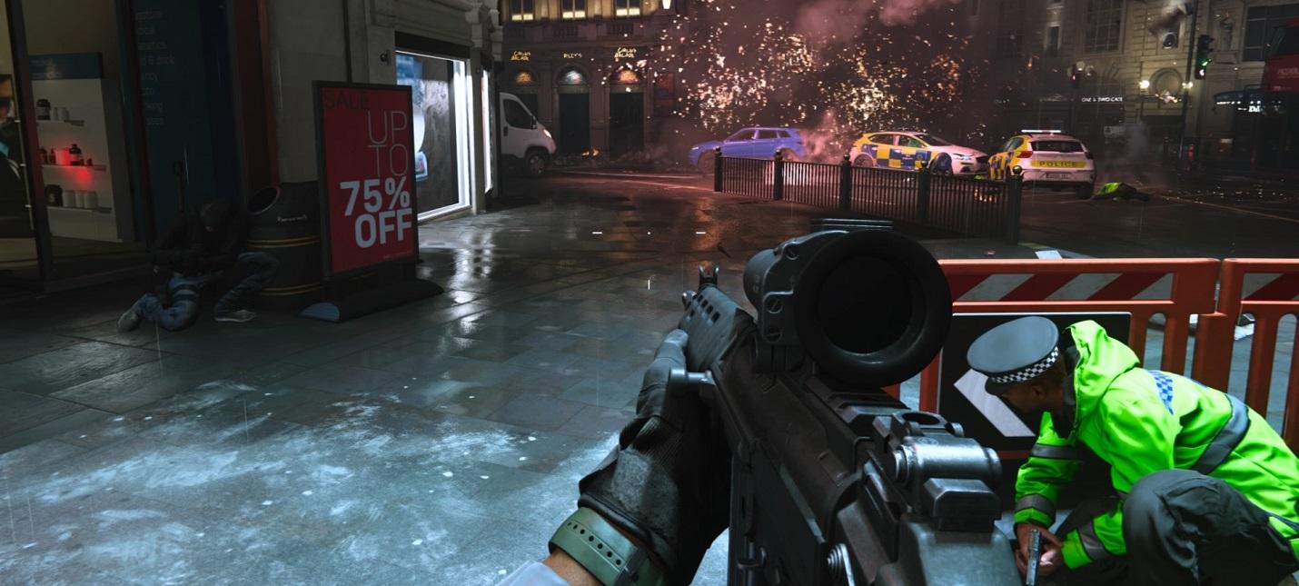 События Call of Duty: Modern Warfare упоминаются в Modern Warfare 2