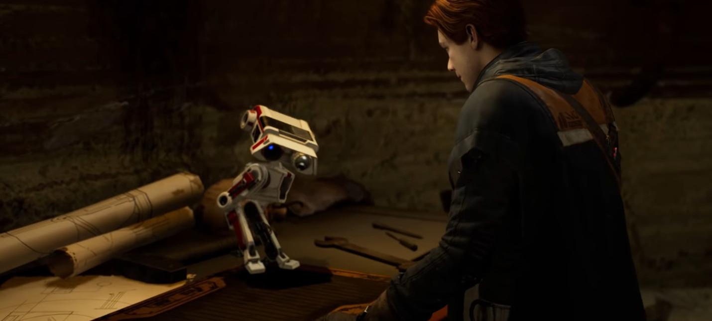 Движения дроида BD-1 в Jedi: Fallen Order записали с помощью картонной куклы и носовой флейты