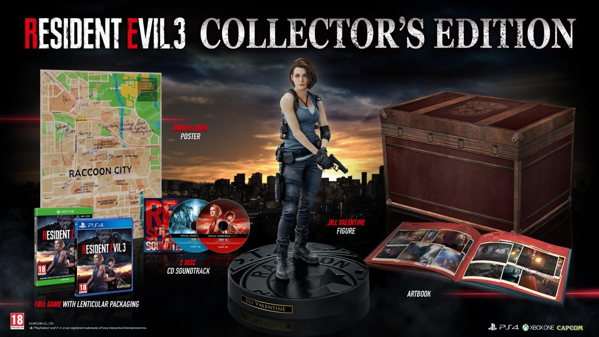 В коллекционном издании ремейка Resident Evil 3 будет фигурка Джилл