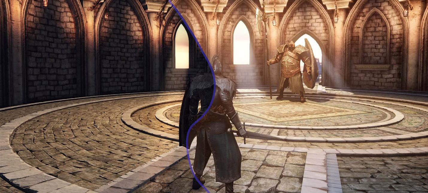 Мод значительно улучшает освещение в Dark Souls 2 — посмотрите сравнение