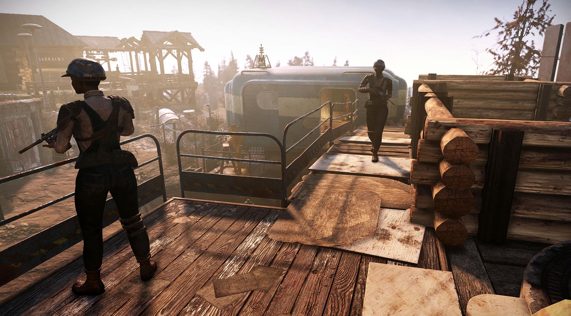 Поселенцы и рейдеры — детали фракций из обновления Fallout 76: Wastelanders