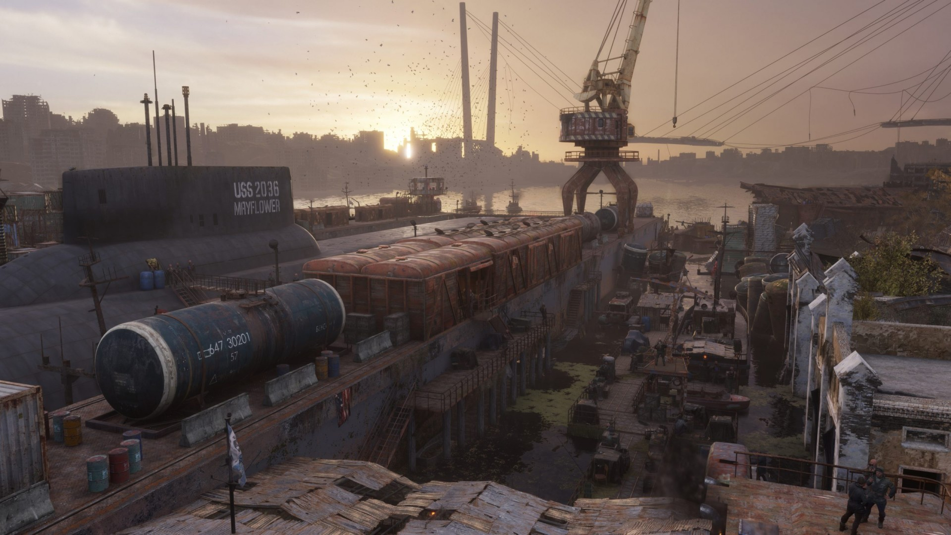 """Первые скриншоты дополнения """"История Сэма"""" для Metro Exodus"""