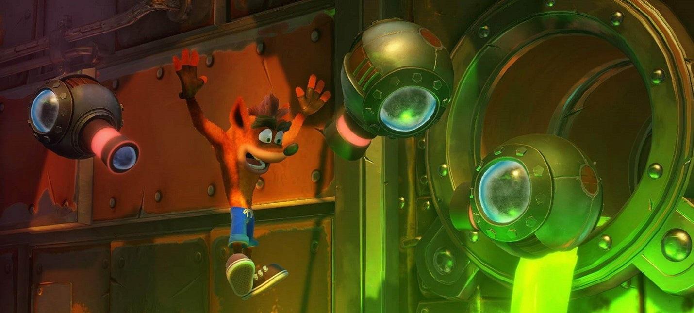 Слух: В февральской подборке PS Plus будет Crash Bandicoot N'Sane Trilogy