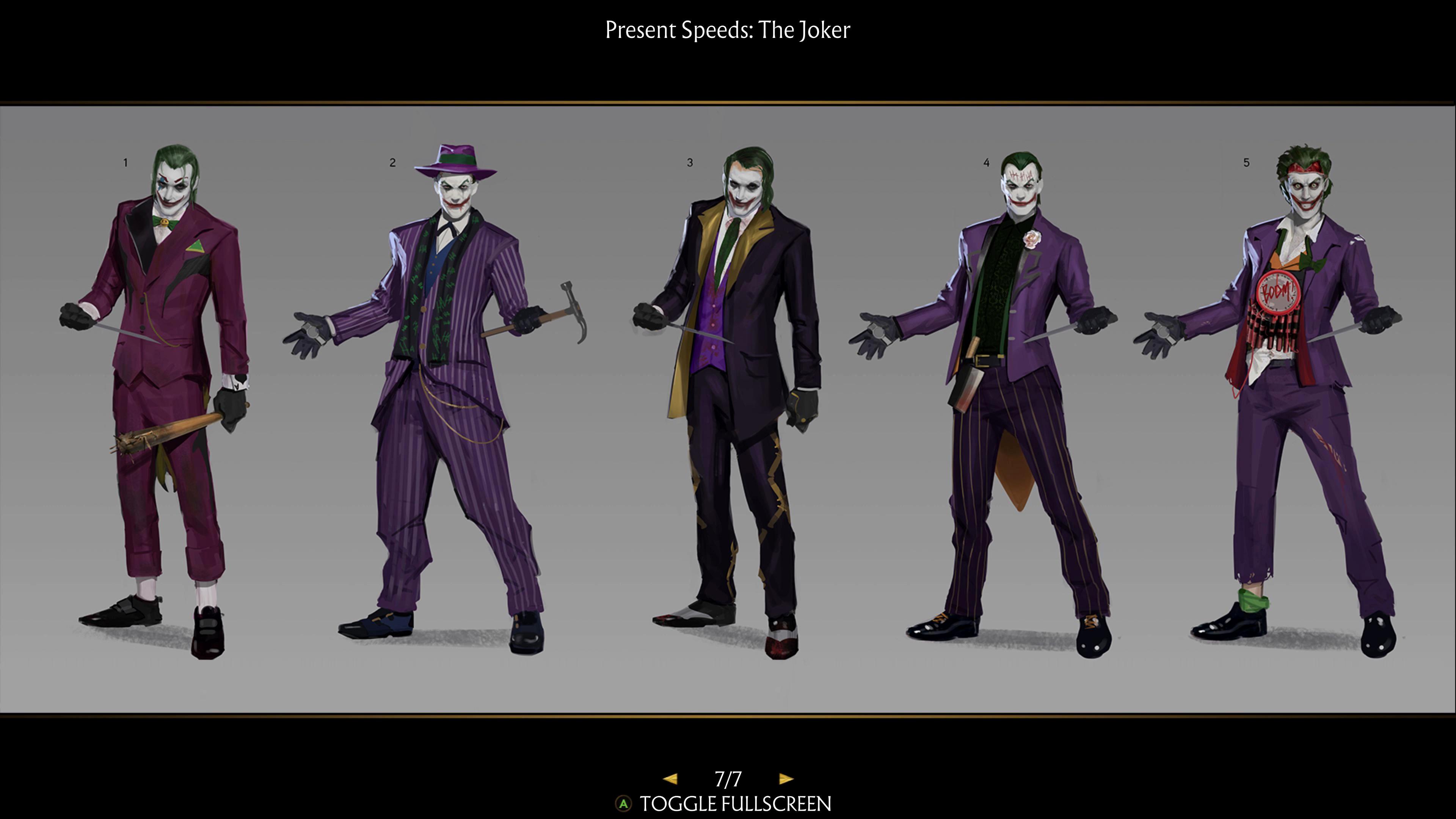 Первый взгляд на Спауна и альтернативные облики Джокера из Mortal Kombat 11
