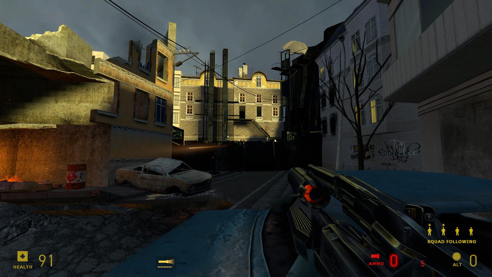 Моддер выпустил для Half-Life 2 массивный набор 2K-текстур