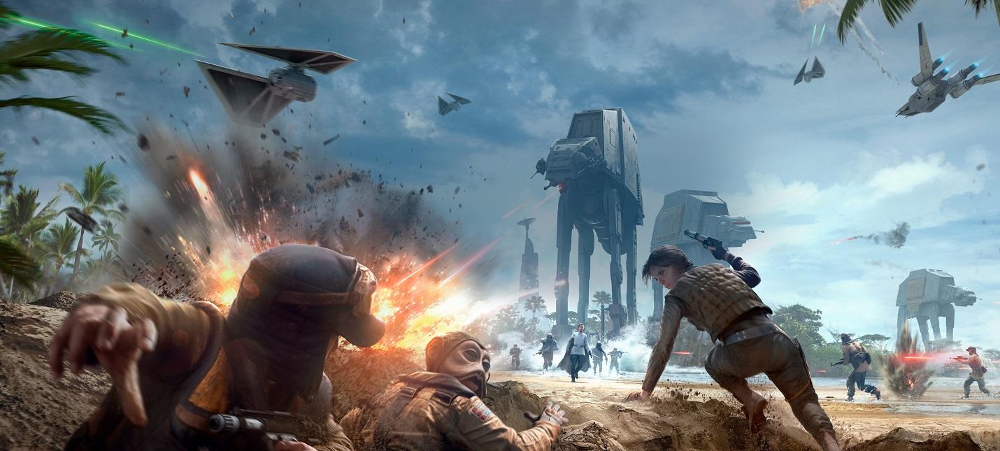 Star Wars Battlefront 2 получит две карты времен войны Повстанцев с Империей