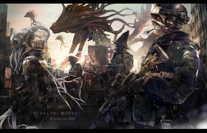 Фанат представил сиквел Bloodborne в современном сеттинге