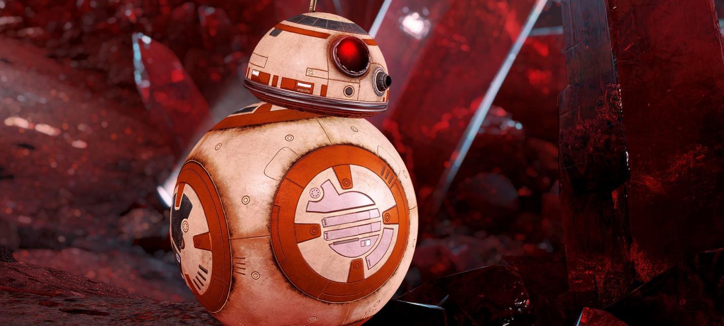 Для Star Wars Battlefront 2 вышло обновление с дроидами BB-8 и BB-9E