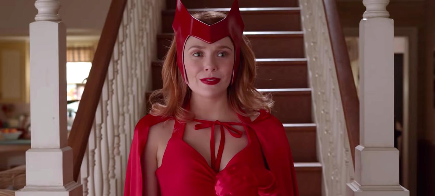 """В тизере """"ВандаВижен"""" показали классический костюм Алой Ведьмы и другие наряды"""