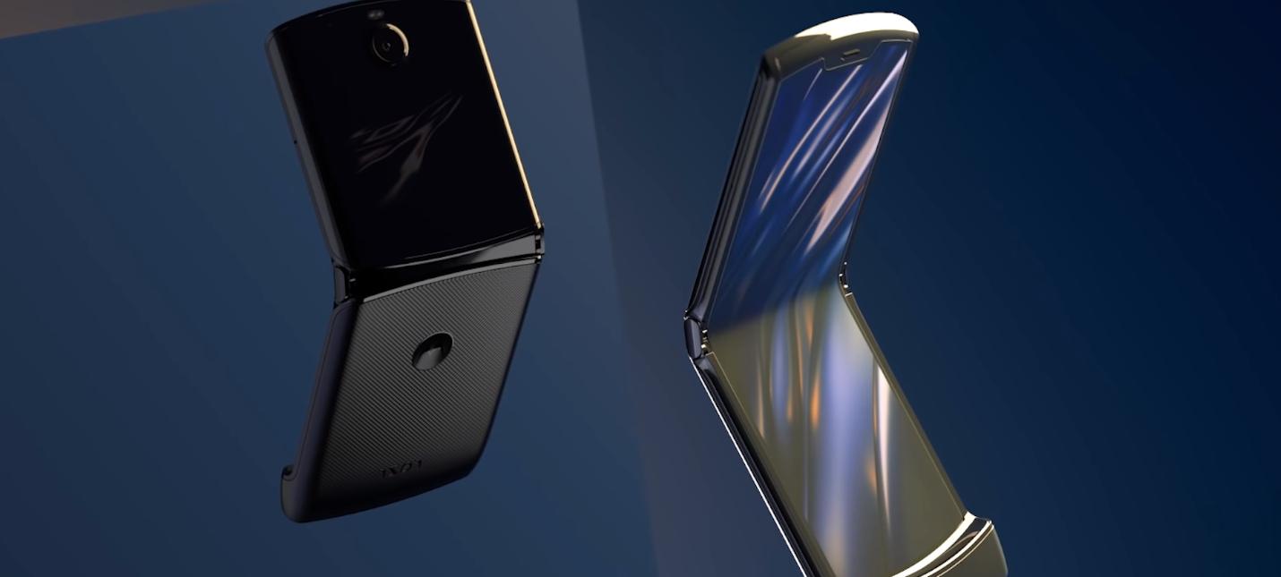 Ютуберы оценили ремонтопригодность раскладушки Motorola Razr