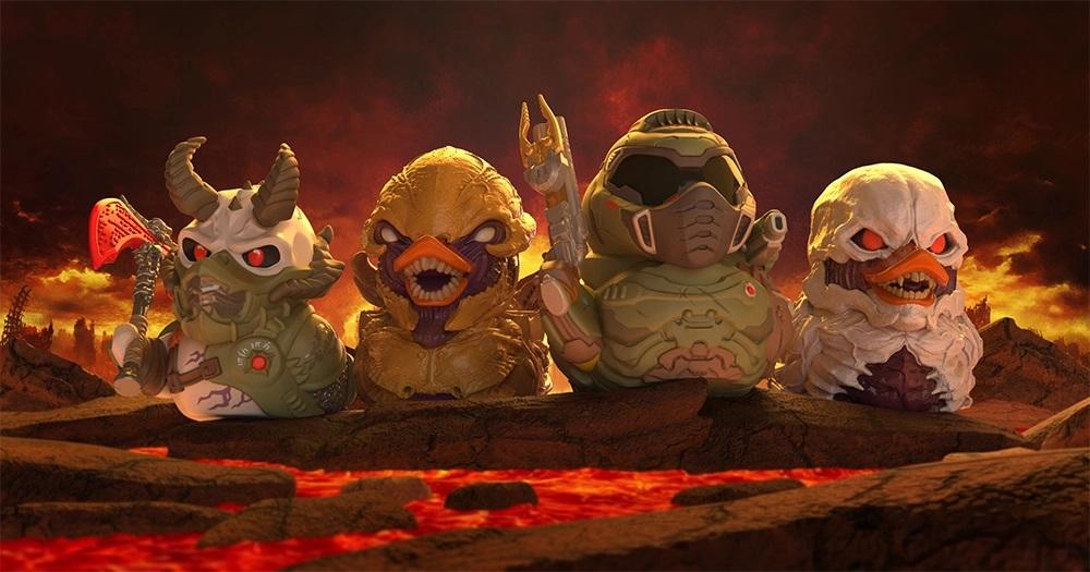 Новая коллекция уточек Numbskull, косплеящих игровых персонажей,