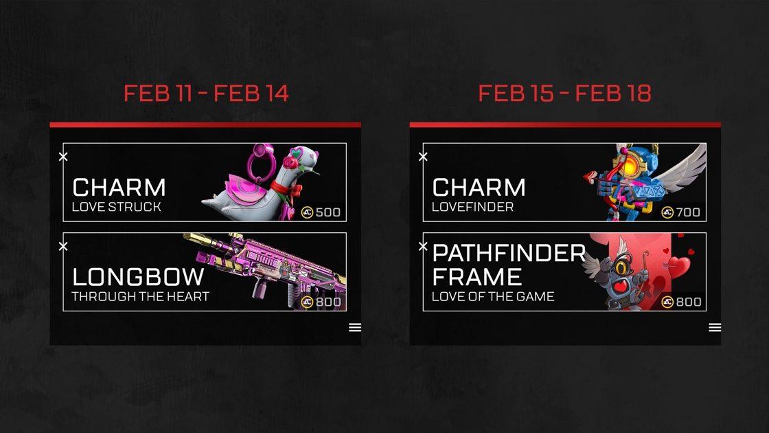 В Apex Legends пройдет День святого Валентина