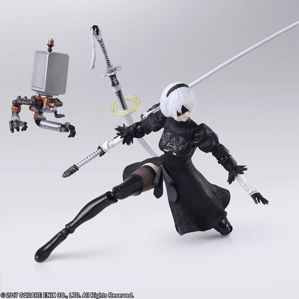 Square Enix показала новую версию фигурки 2B из NieR: Automata