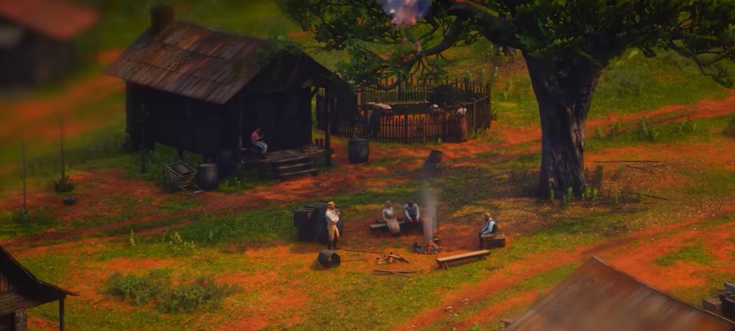 Видео: Мир Red Dead Redemption 2 в миниатюре