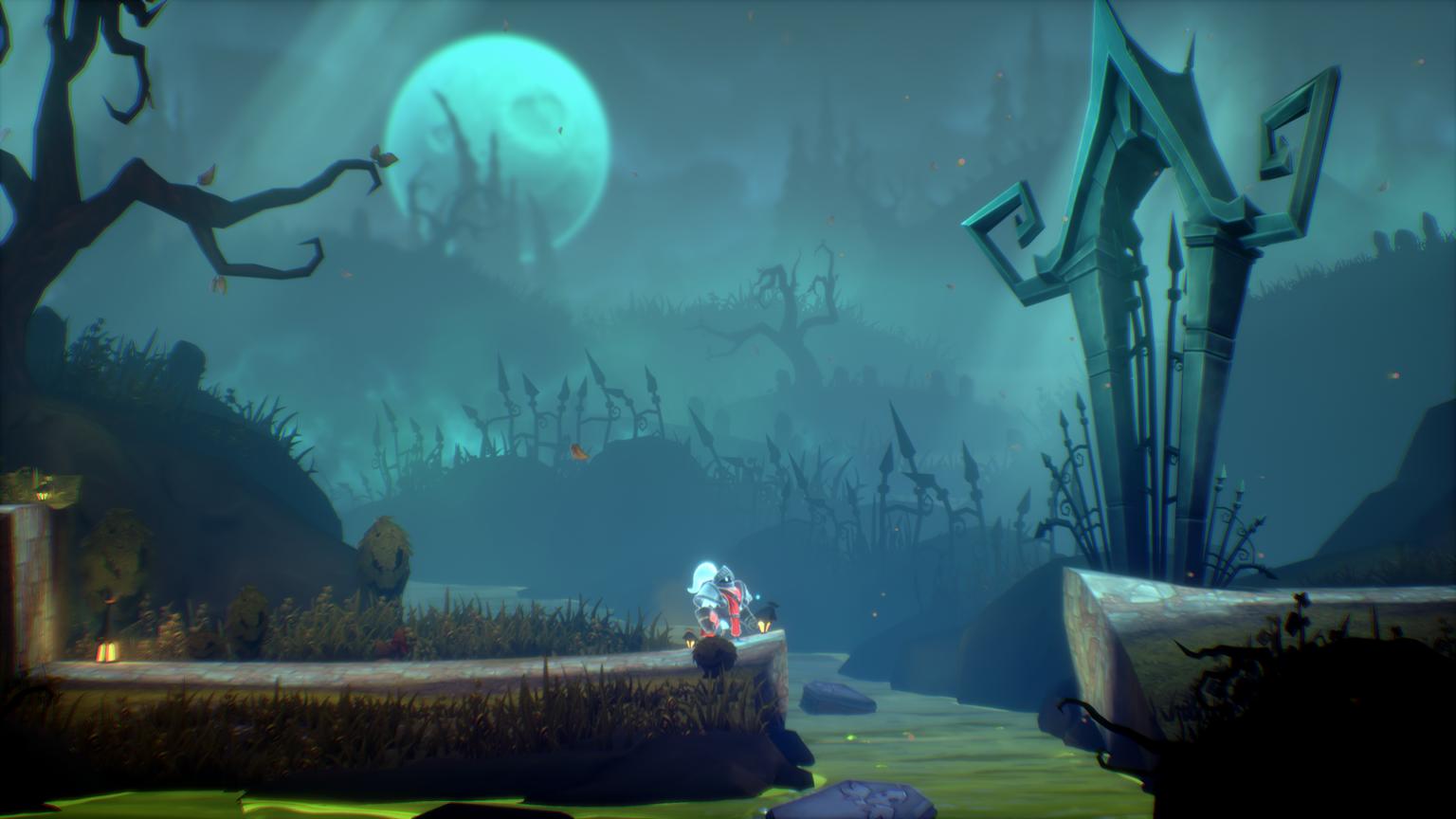 Анонсирован мультяшный экшен-платформер Ghost Knight: A Dark Tale
