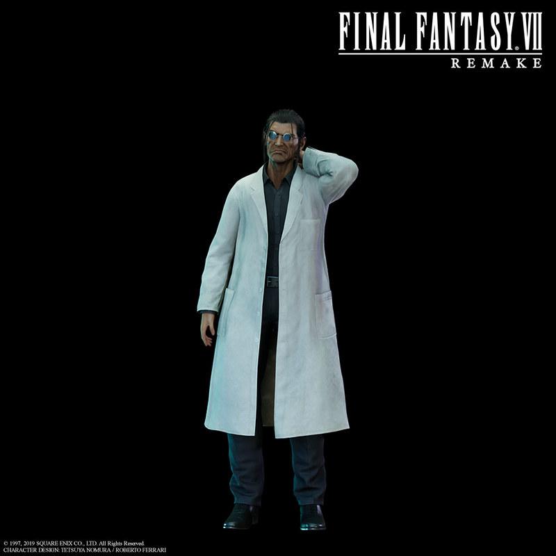 26 новых скриншотов и артов Final Fantasy VII Remake