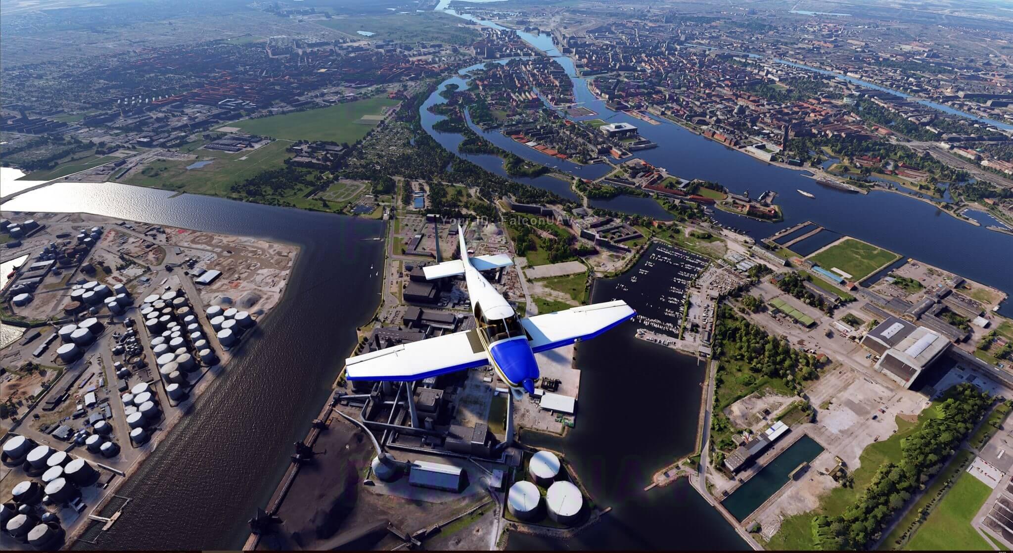 Новые завораживающие скриншоты Microsoft Flight Simulator