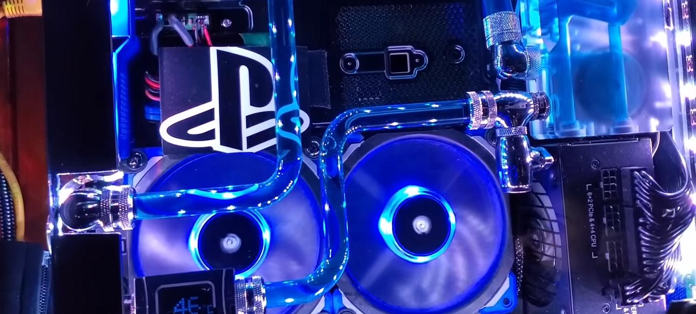 Энтузиаст сделал водяное охлаждение для PS4 Pro