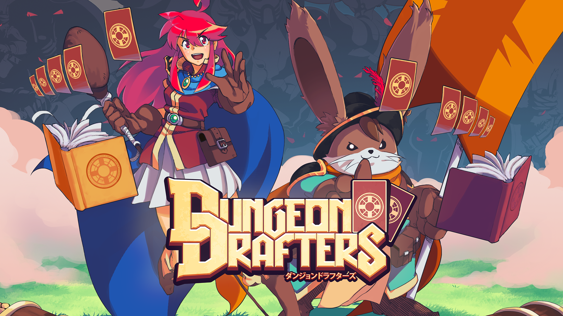 Dungeon Drafters — данжен-кроулер с магией в виде колоды карт