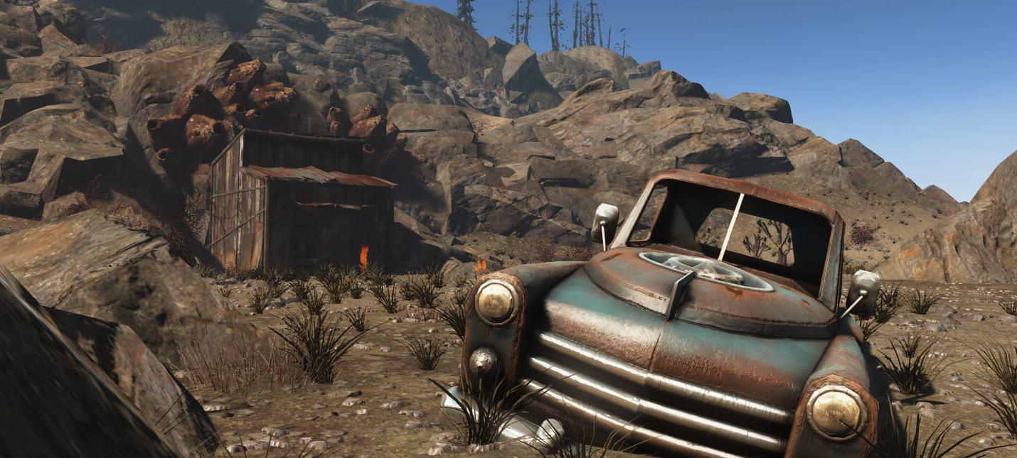 Пустошь на новых скриншотах мода Fallout 4 New Vegas