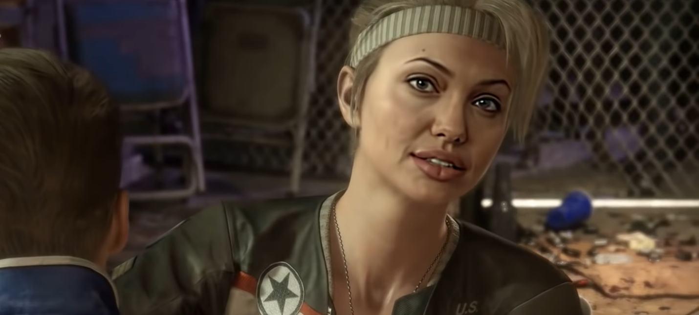 Deepfake: Голливудские актрисы в роли бойцов Mortal Kombat 11
