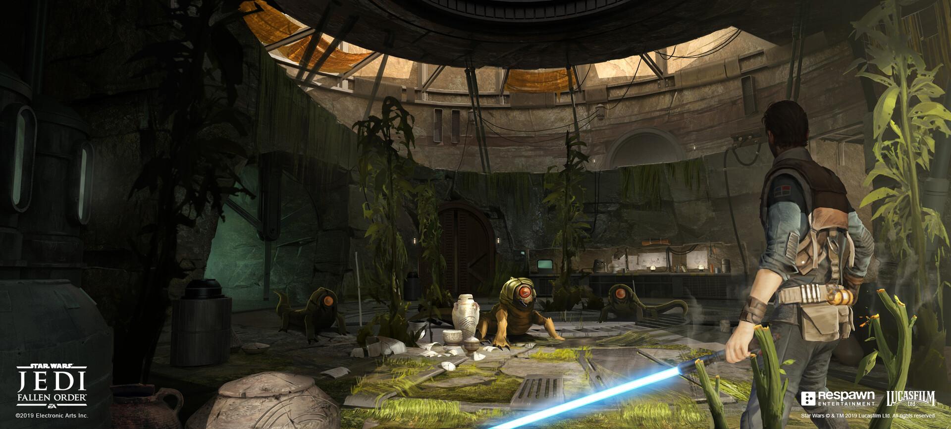 Локации, персонажи и одежда — концепт-арты Jedi: Fallen Order