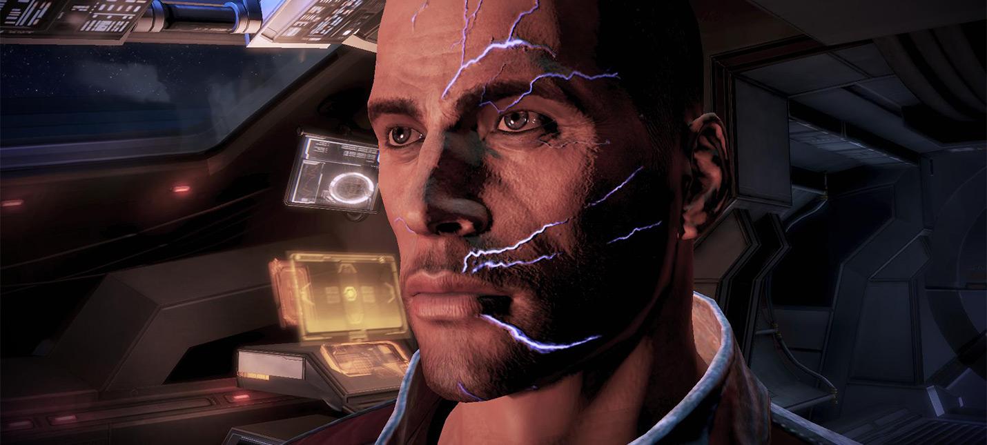 Оказывается, лишь 1 из 10 игроков Mass Effect был Ренегатом