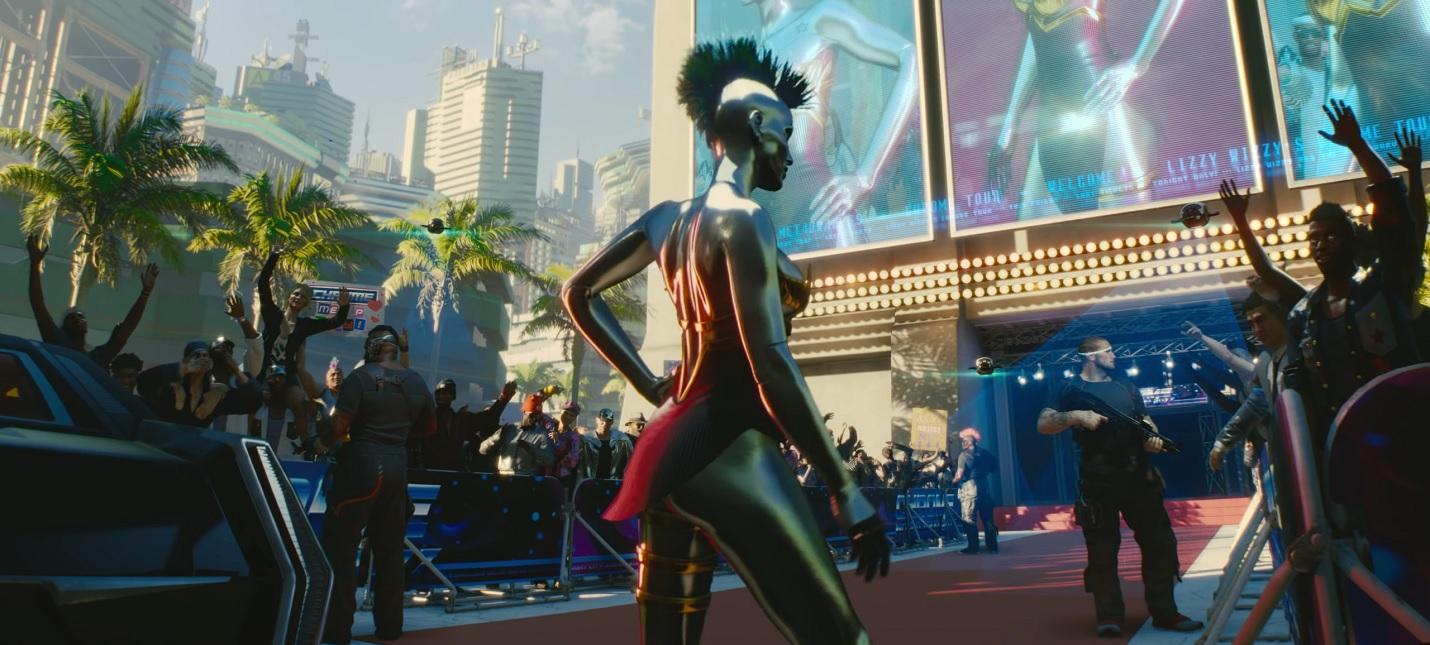 Grimes появится в Cyberpunk 2077 в образе певицы с кибернетическим телом