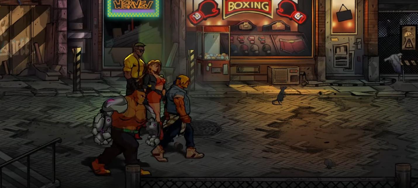 Новый геймплейный трейлер Streets of Rage 4, релиз весной
