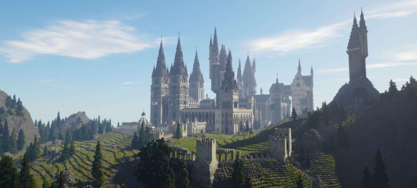 """Созданную в Minecraft RPG по """"Гарри Поттеру"""" теперь можно скачать"""