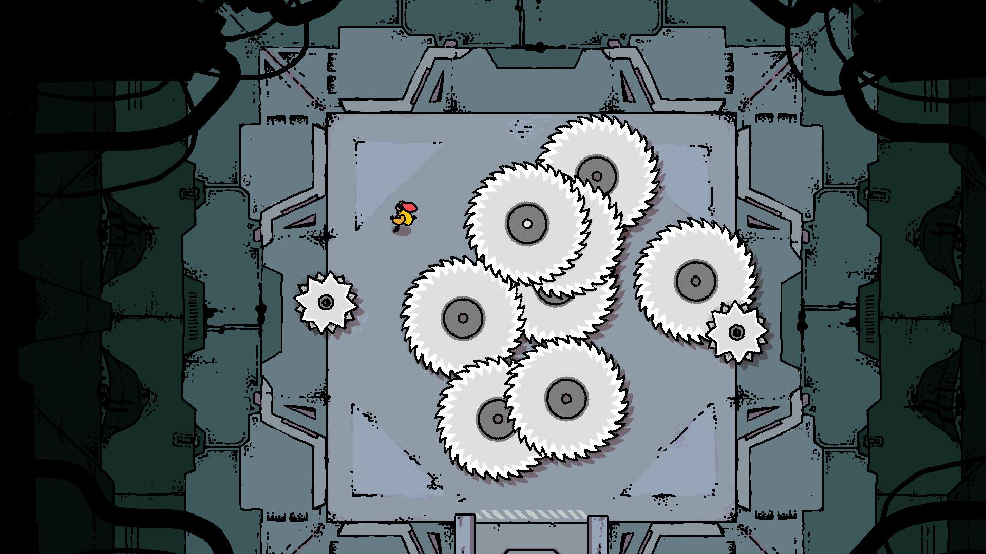 Devolver Digital анонсировала экшен-пазл Disc Room