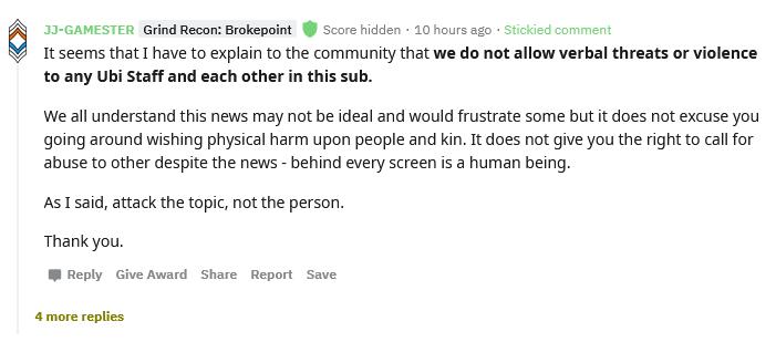 Ubisoft перенесла выход реалистичного режима Ghost Recon Breakpoint на весну