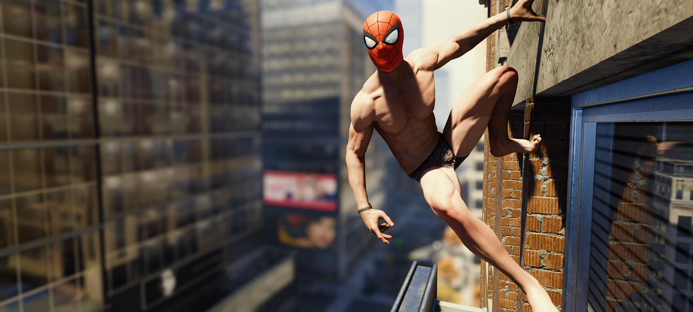 Художник из Insomniac рассказал про создание сосков в Spider-Man