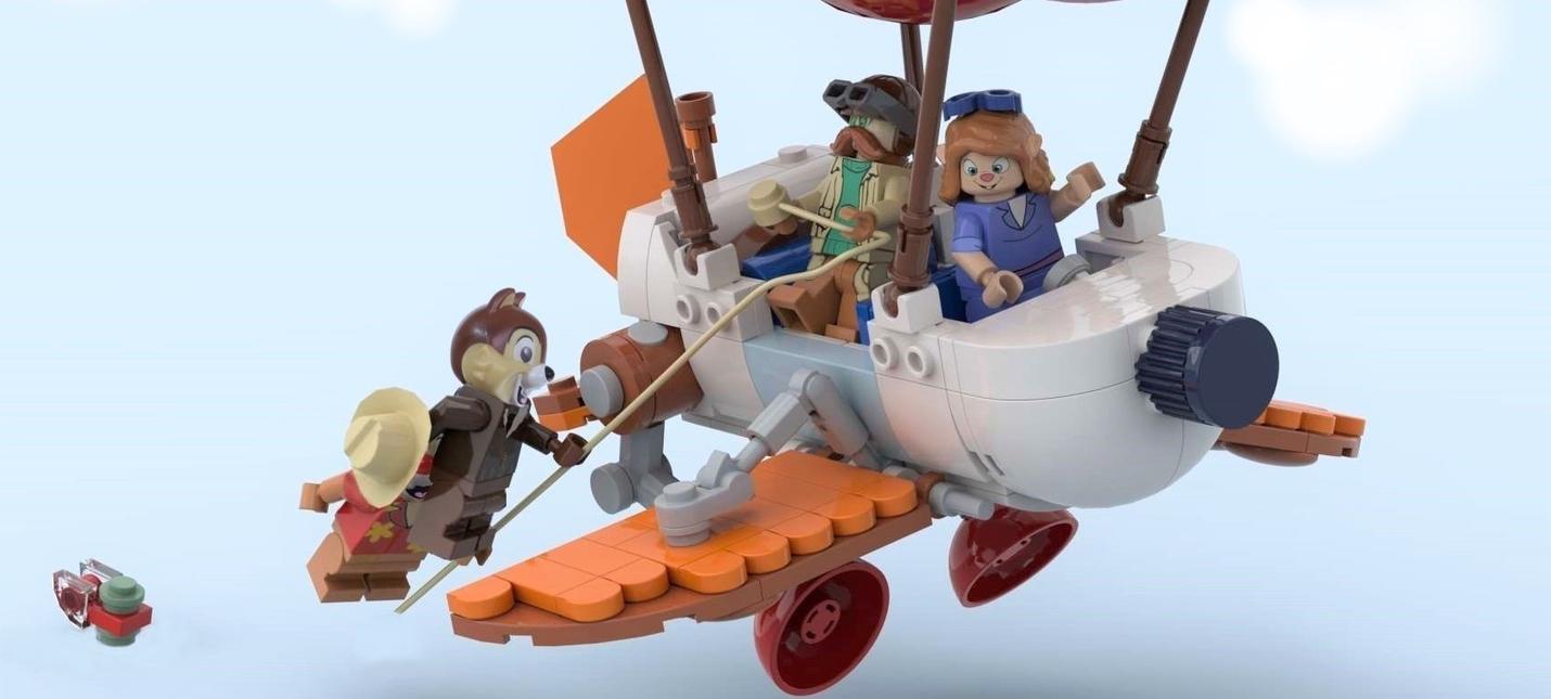 Чип и Дэйл спешат на помощь — новый набор LEGO Ideas