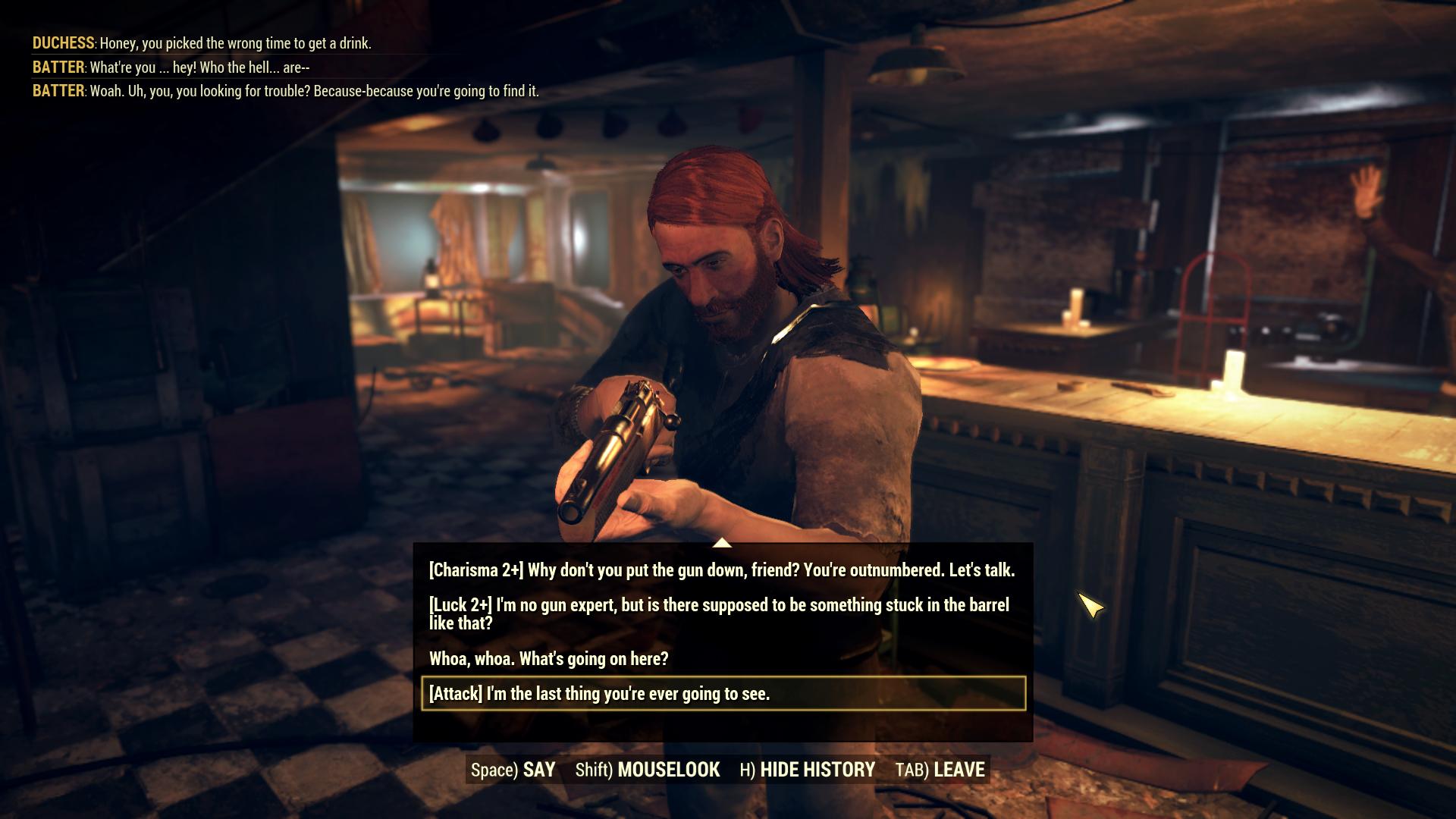 Bethesda рассказала о системе диалогов в обновлении Wastelanders для Fallout 76