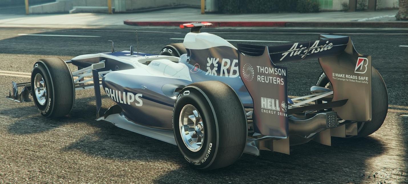 Rockstar добавила в GTA Online реалистичные болиды Формулы-1
