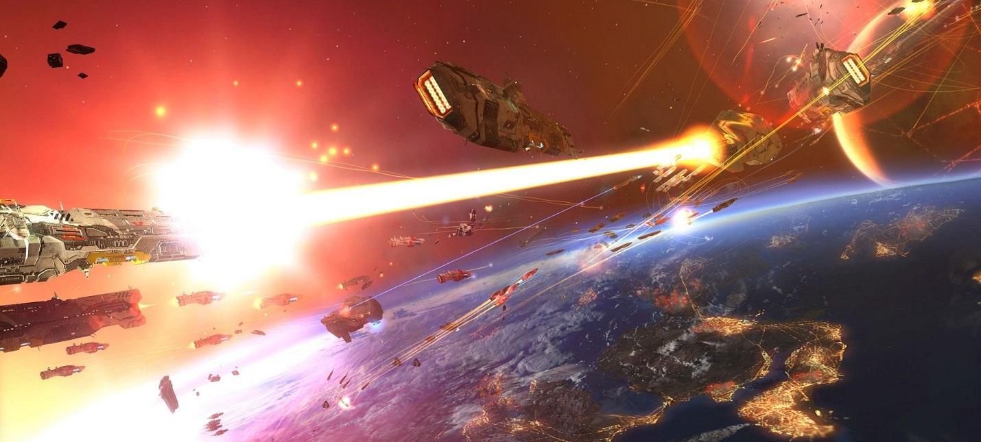 Космические сражения на экране смартфона в первом трейлере Homeworld Mobile
