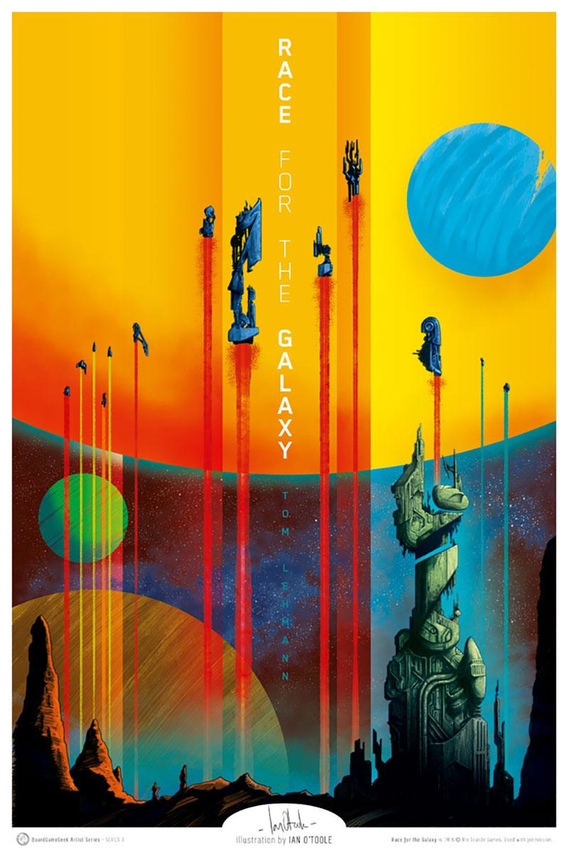 Стильные плакаты к настольным играм от разных художников