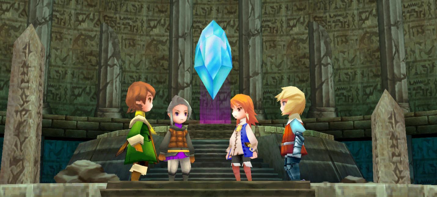 Square Enix внезапно выпустила крупный патч для Final Fantasy III