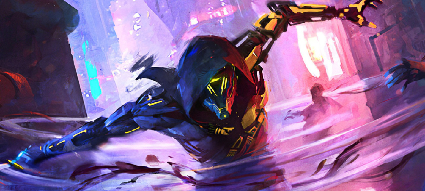 Мрачный киберпанк в геймплее Ghostrunner