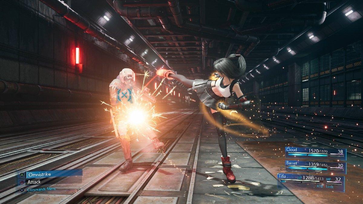 Новый геймплей, скриншоты и трейлер демо-версии Final Fantasy VII Remake